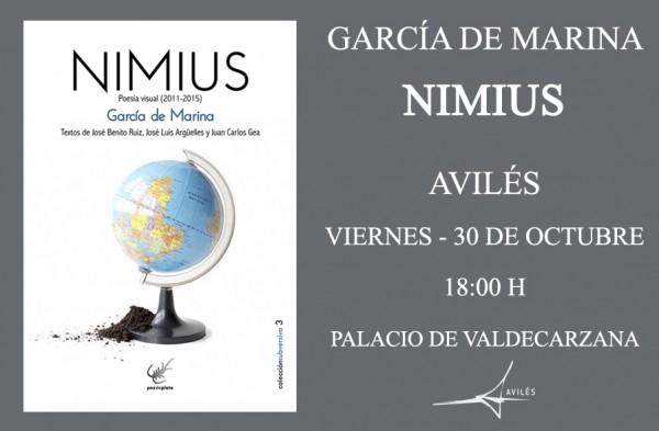 Presentación en Aviles libro Garcia de Marina