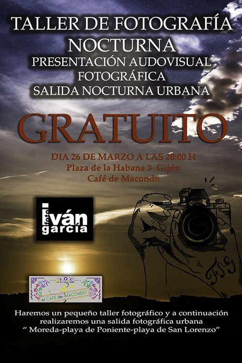 Taller de Fotografía Nocturna de Iván García